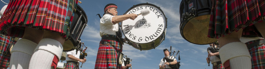 Cross Creek Pipes and Drums - Music